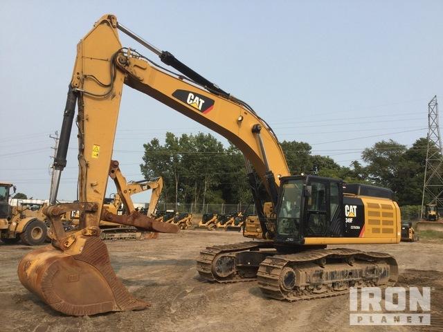 2015 Cat 349FL Track Excavator, Hydraulic Excavator