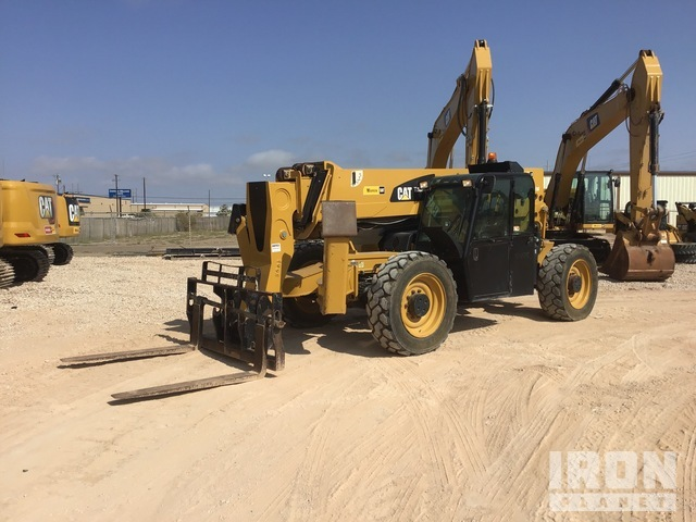 2015 Cat TL1055C 4x4 10000 lb Telehandler, Telescopic Forklift