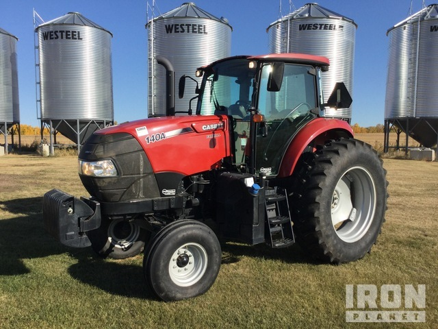 2016 (unverified) Case IH 140A 2WD Tractor, 2WD Tractor