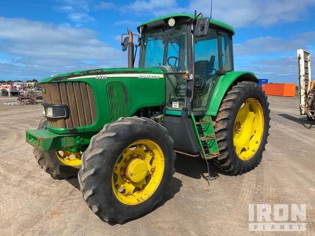 2003 John Deere 6520 4WD Tractor, MFWD Tractor