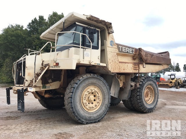 Terex TR45 Off-Road End Dump Truck, Rock Truck