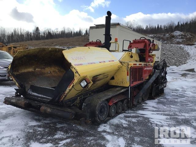 2013 Dynapac F1000T Track Asphalt Paver, Asphalt Paver