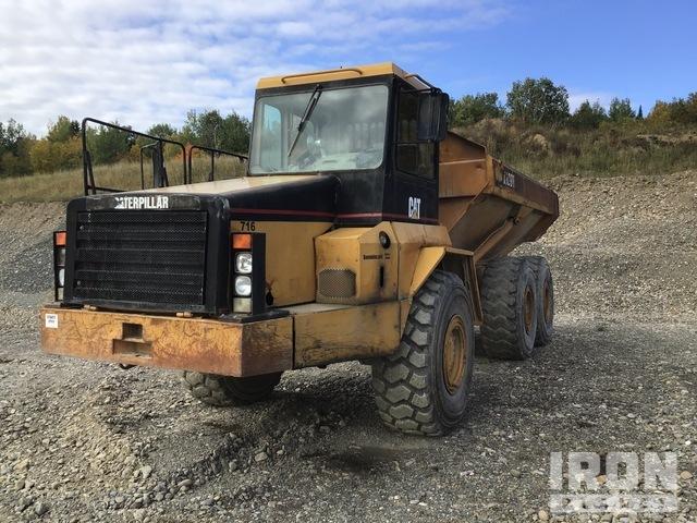 1998 Cat D300E 6x6 Articulated Dump Truck, Articulated Dump Truck