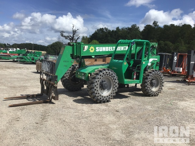2013 (unverified) JLG 6042 4x4 Telehandler, Telescopic Forklift