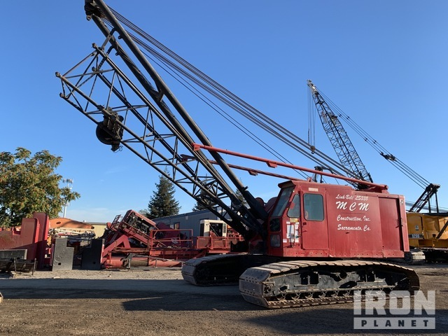 1978 Link-Belt LS-338 Lattice-Boom Crawler Crane, Crawler Crane