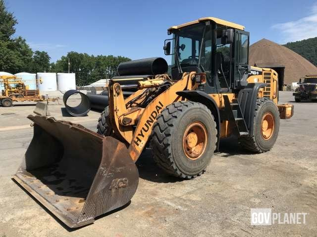 2010 Hyundai HL740-9 Wheel Loader - P0632047, Wheel Loader