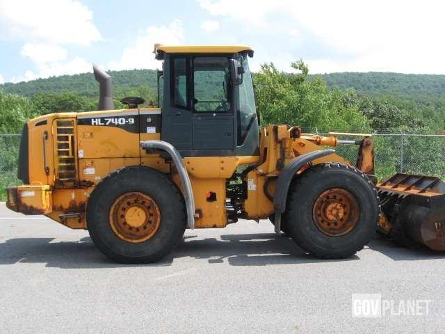 2010 Hyundai HL740-9 Wheel Loader - P0412047, Wheel Loader