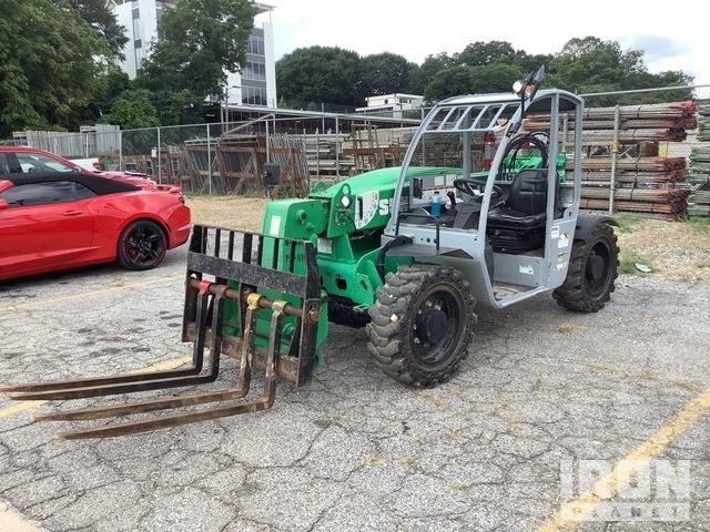 2014 Genie GTH-5519 4x4 5500 lb. Telehandler, Telescopic Forklift