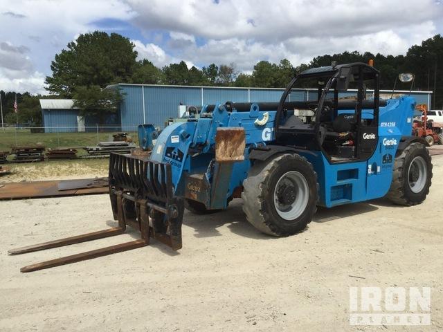 2015 Genie GTH-1256 4x4 12000 lb Telehandler, Telescopic Forklift