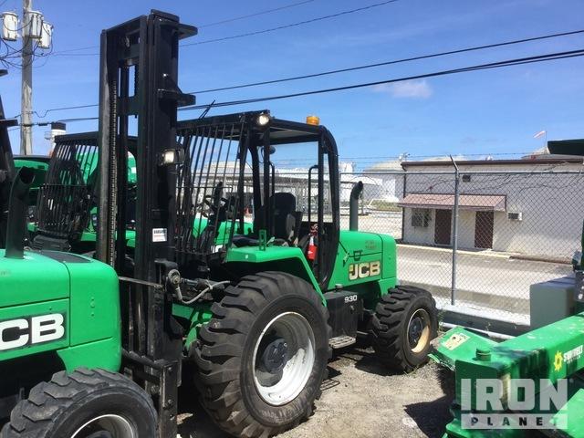 2015 JCB 930 6000 lb 4x4 Rough Terrain Forklift, Rough Terrain Forklift