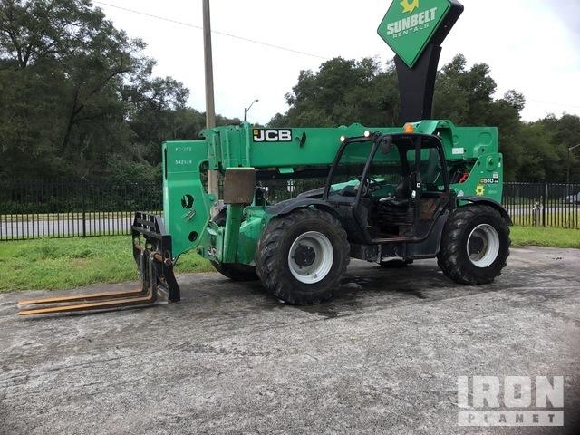 2013 JCB 510-56 4x4 10000 lb. Telehandler, Telescopic Forklift