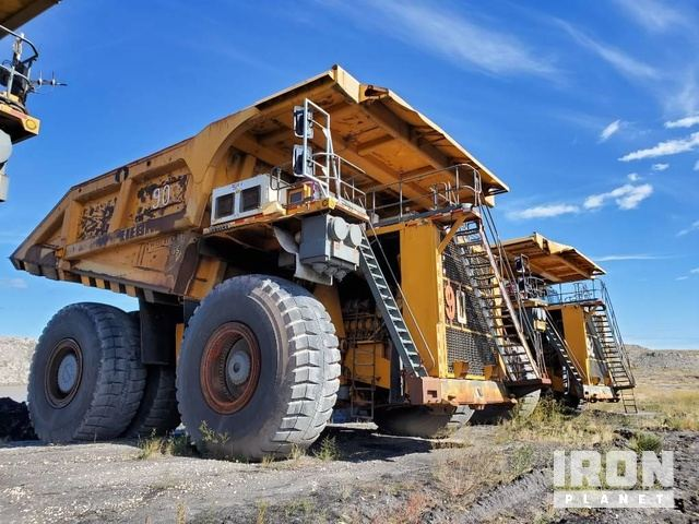 2007 Liebherr T282B Off-Road End Dump Truck, Rock Truck