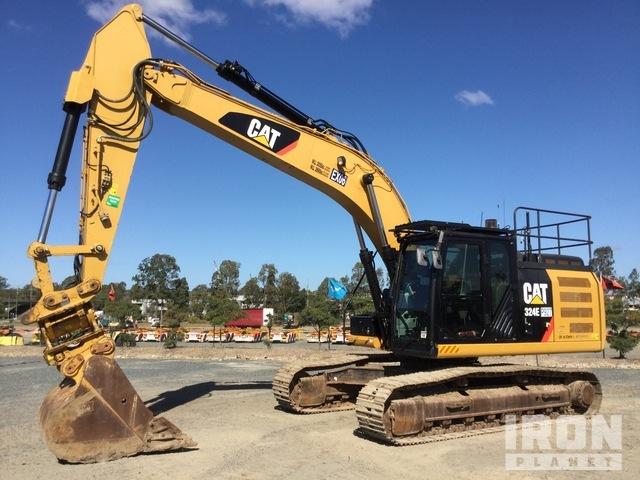 2014 Cat 324EL Track Excavator, Hydraulic Excavator