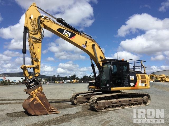 2014 Cat 329D L Track Excavator, Hydraulic Excavator