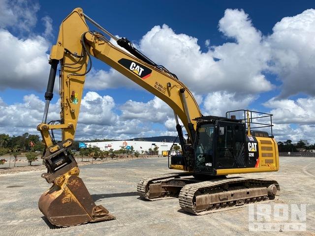 2014 Cat 329EL Track Excavator, Hydraulic Excavator