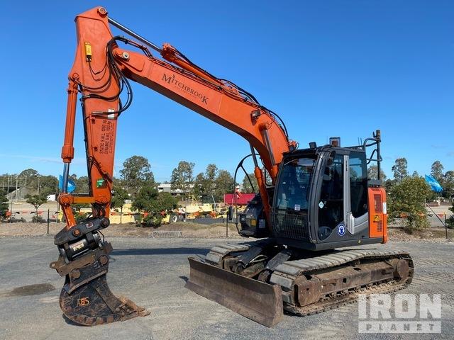 2015 Hitachi ZX135US-3 Track Excavator, Hydraulic Excavator