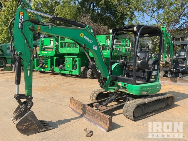 2016 JCB 8035ZTS Mini Excavator, Mini Excavator (1 - 4.9 Tons)