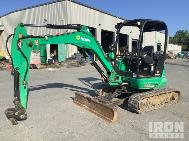 2016 (unverified) JCB 8035ZTS Mini Excavator, Mini Excavator (1 - 4.9 Tons)