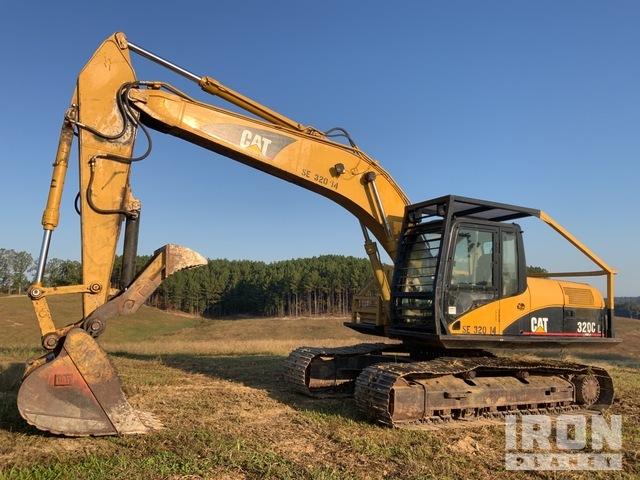 2006 Cat 320CL Track Excavator, Hydraulic Excavator