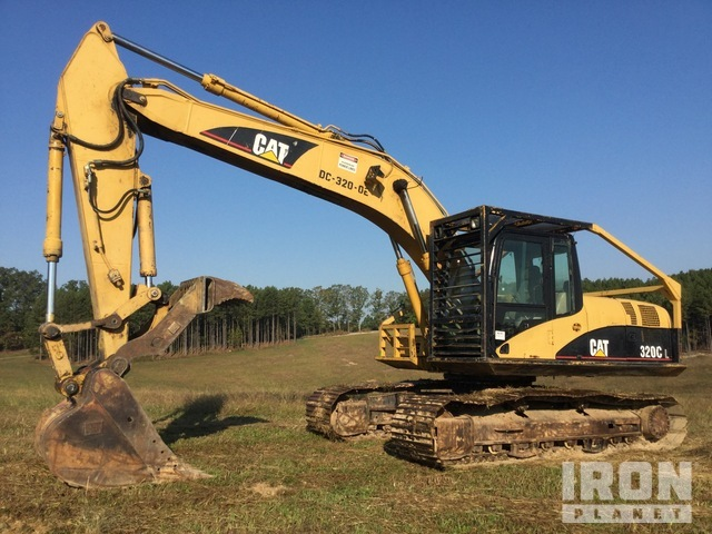 2007 Cat 320CL Track Excavator, Hydraulic Excavator