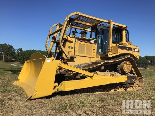 Cat D8R Crawler Dozer, Crawler Tractor