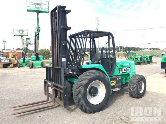 2012 (unverified) JCB 930 6000 lb. Rough Terrain Forklift, Rough Terrain Forklift