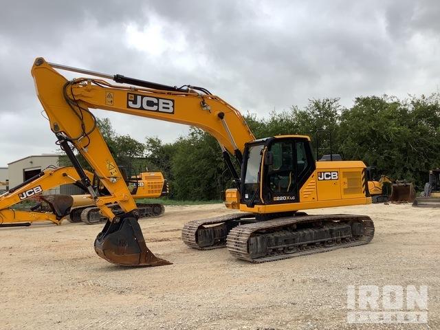 2019 JCB 220XLC Track Excavator, Hydraulic Excavator