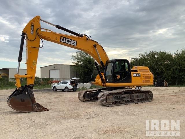 2019 JCB JS300LC4F Track Excavator, Hydraulic Excavator