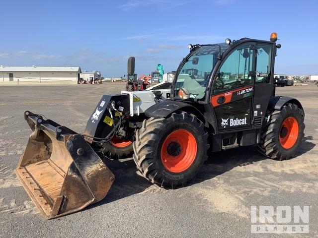 2017 Bobcat TL38.70HF 4x4x4 Agri Super Telehandler, Telescopic Forklift