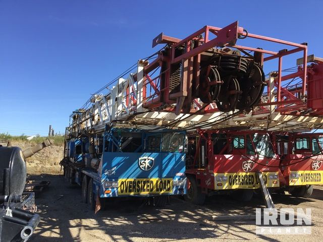 2009 (unverified) Service King Service 575 D/D Well Service Rig, Service Rig