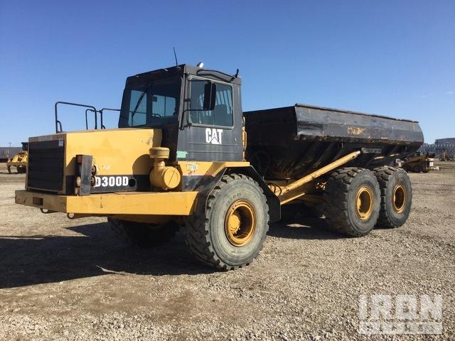 Cat D300D 6x6 Articulated Dump Truck, Articulated Dump Truck