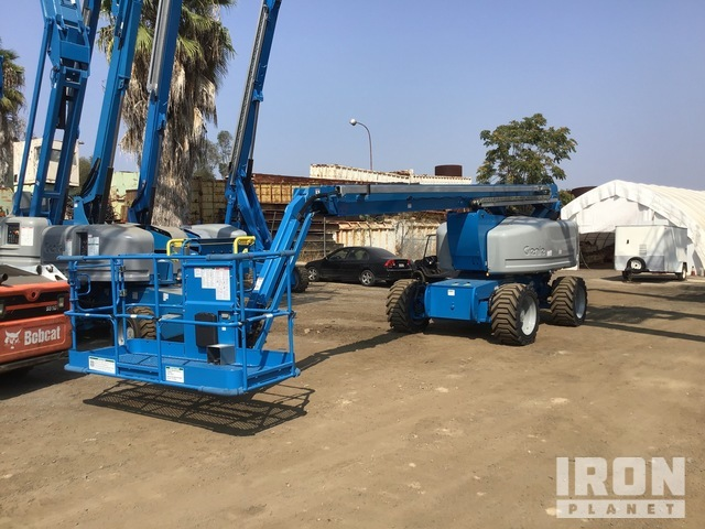 2008 Genie Z-80/60 4WD Diesel Articulating Boom Lift - Factory Reconditioned, Boom Lift