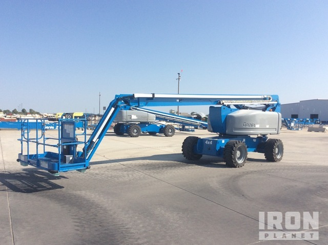 2010 Genie Z-80/60 4WD Diesel Articulating Boom Lift - Factory Reconditioned, Boom Lift