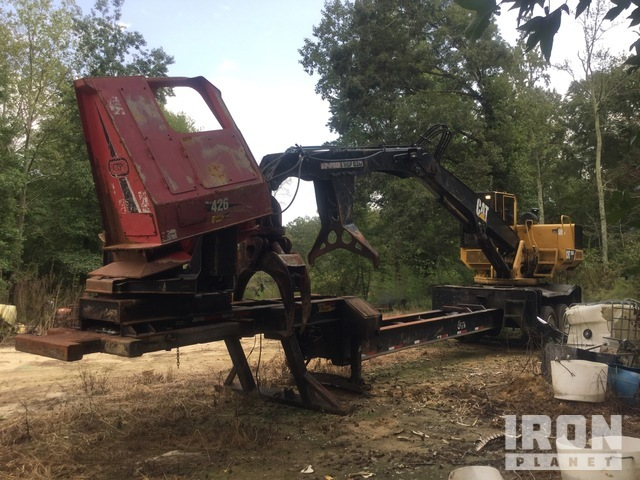Cat 559BDS Trailer Mounted Log Loader, Log Loader