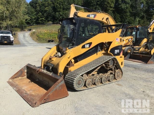 2011 Cat 297C Compact Track Loader, Compact Track Loader