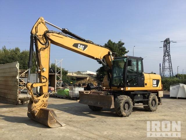 2014 Cat M318D Wheel Excavator, Mobile Excavator