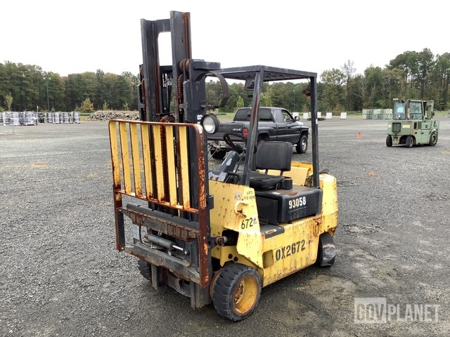 Hyster S40XL Cushion Tire Forklift, Forklift