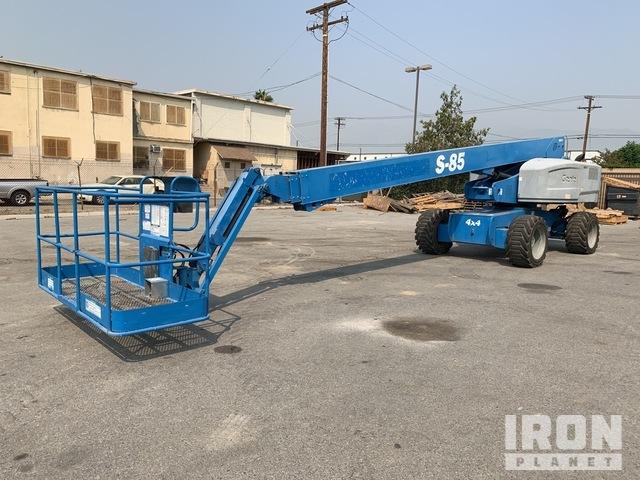 2012 (unverified) Genie S-85 4WD Diesel Telescopic Boom Lift, Boom Lift