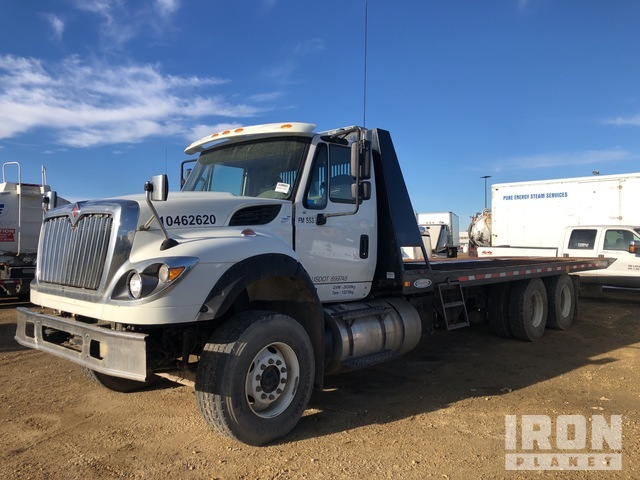 2016 International 7600 6x4 T/A Rollback Truck, Tow Truck