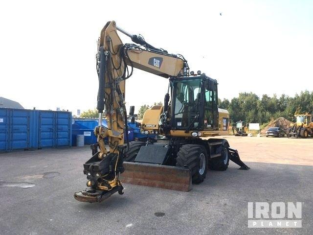 2015 Cat M315D Wheel Excavator, Mobile Excavator