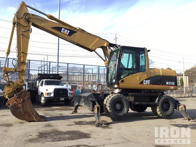 Cat M315C Wheel Excavator, Mobile Excavator