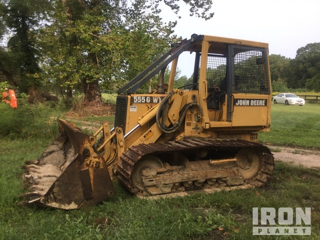 John Deere 555GWT Crawler Loader, Crawler Loader