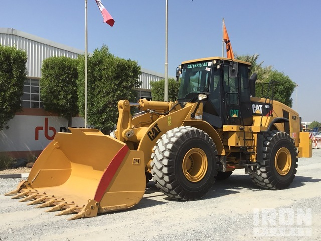 2014 Cat 966H Wheel Loader, Wheel Loader