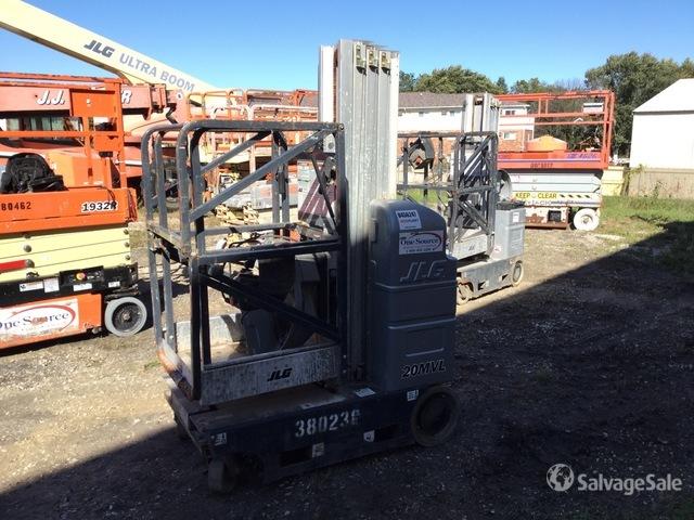 2018 JLG 20 MVL Vertical Mast Lift, Boom Lift