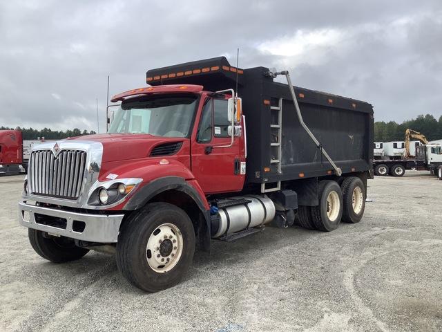 2016 International 7400 6x4 T/A Dump Truck