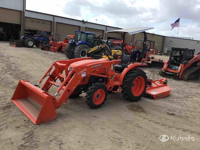 2019 (unverified) Kubota L2501D 4WD Tractor, MFWD Tractor