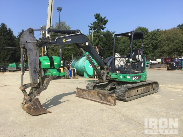 2013 John Deere 50G Mini Excavator, Mini Excavator (1 - 4.9 Tons)
