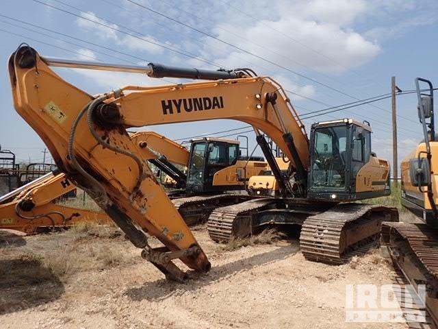 2015 Hyundai HX300L Track Excavator, Hydraulic Excavator