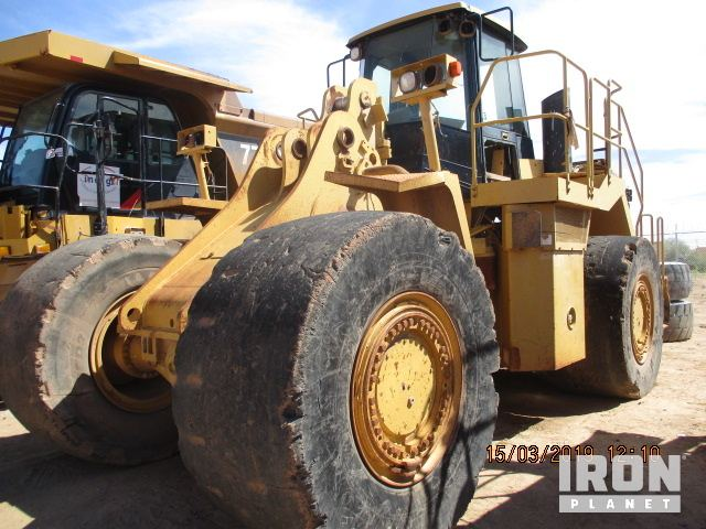 2007 Cat 988H Wheel Loader - Inoperable, Parts/Stationary Construction-Other