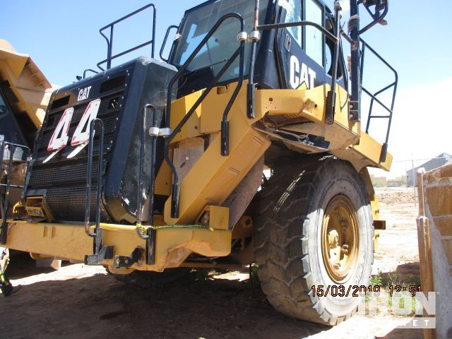 2012 Cat 775G Off-Road End Dump Truck, Rock Truck